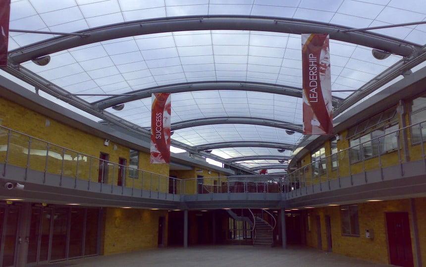 ứng dụng ETFE vào các công trình kiến trúc