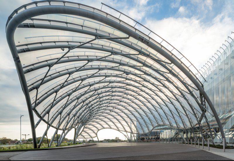 một công trình ứng dụng ETFE tiêu biểu