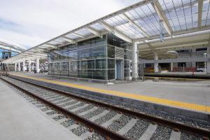 Denver station_Mái che bạt căng nhà ga 2