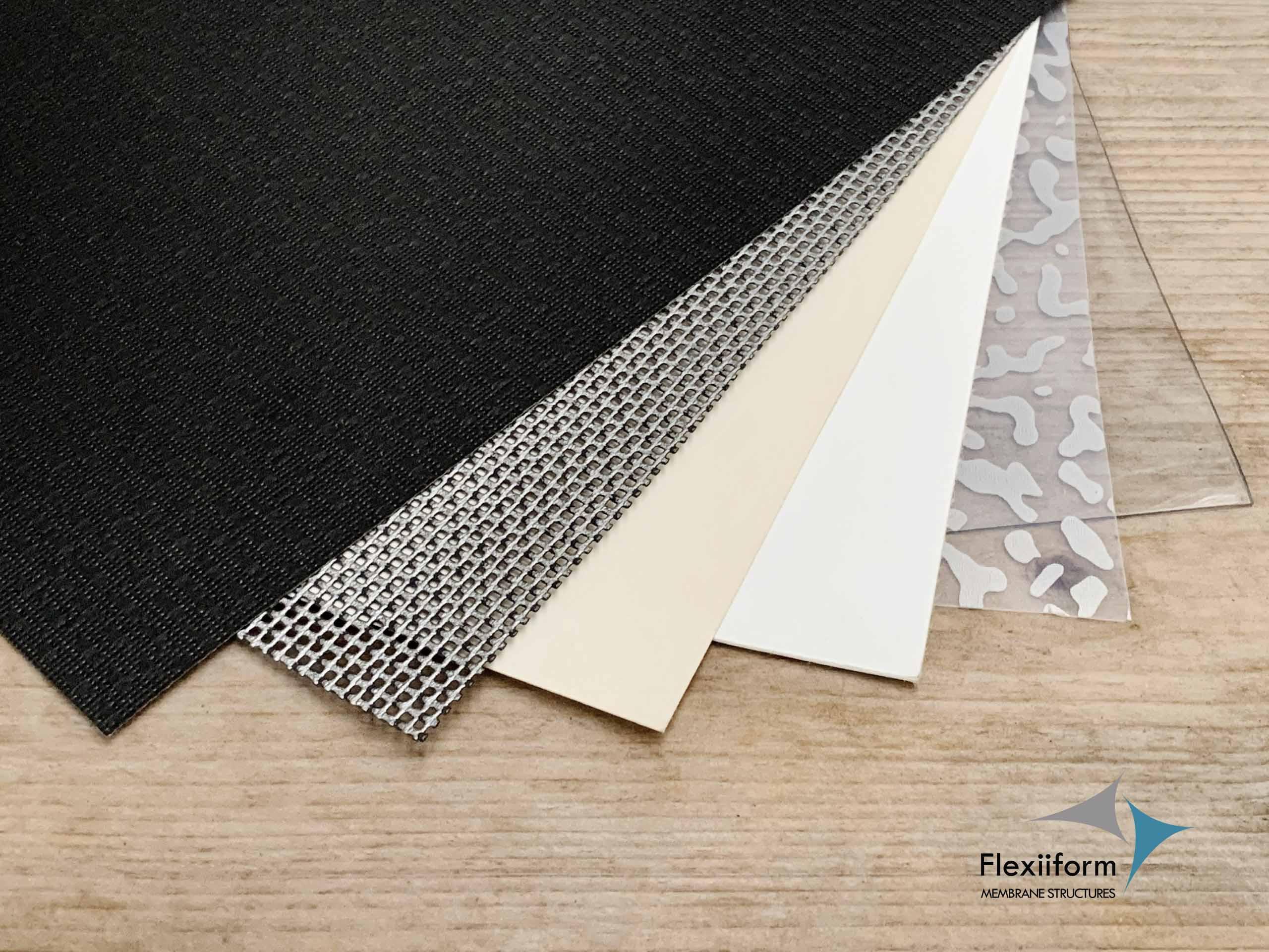 vật liệu mái che bạt căng PVDF, PTFE, ETFE, Mesh, Clear PVC là những loại vật liệu được ứng dụng trong ngành kiến tr1uc bạt căng.