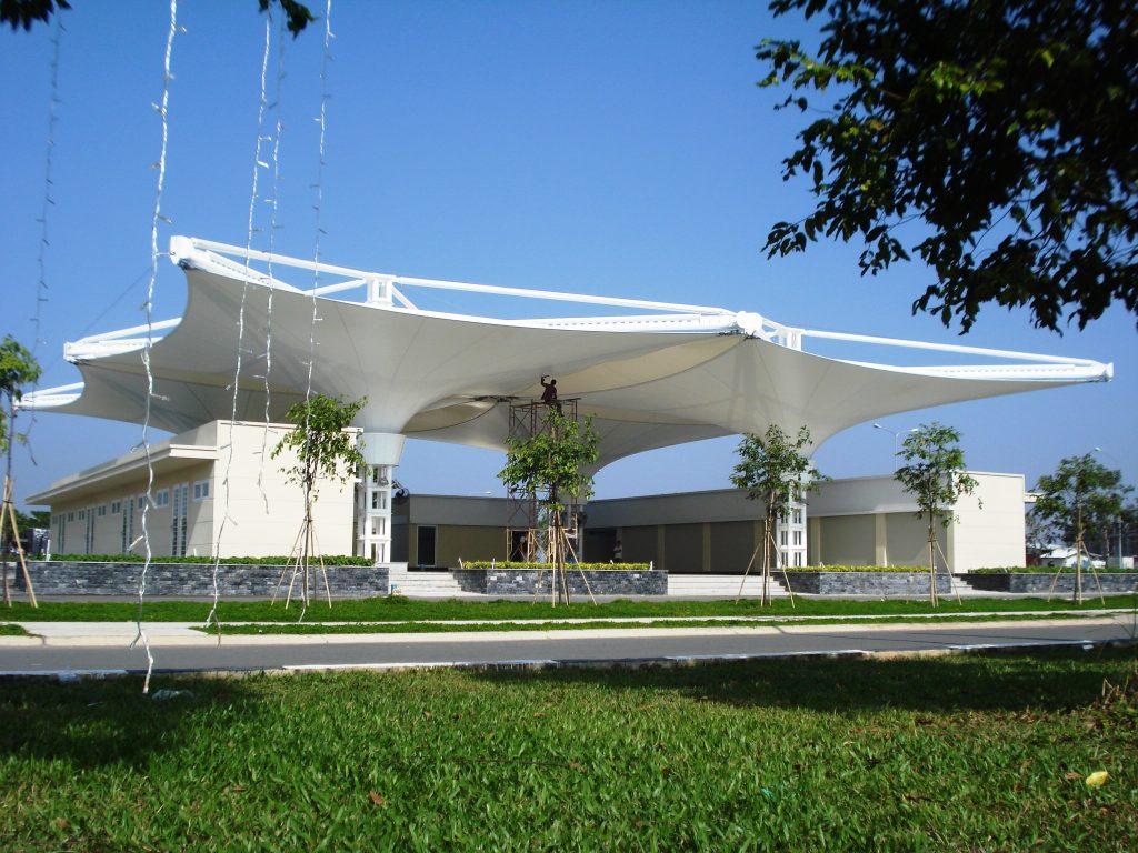 Ứng dụng Tensile Fabric Vietnam tại Becamex - Bình Dương