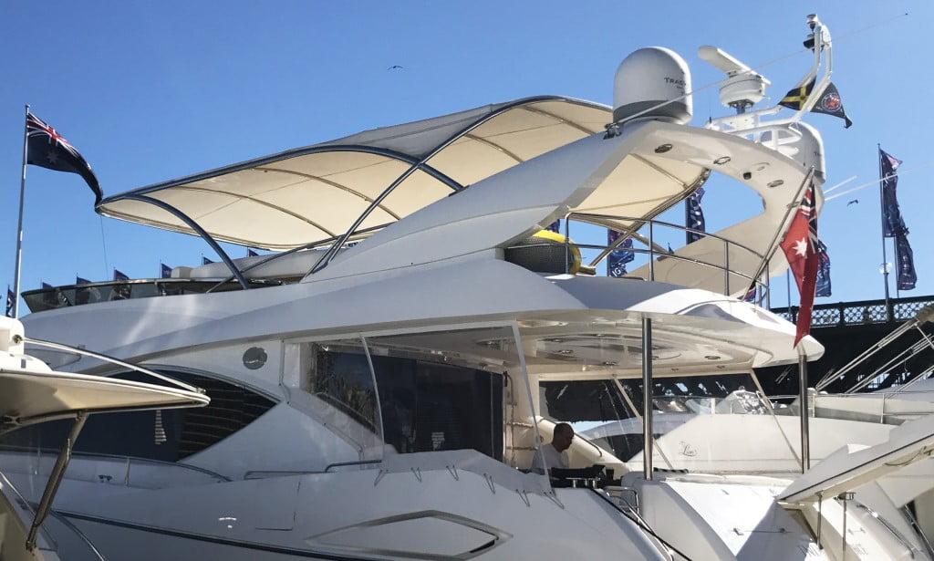 Ứng dụng thiết kế bạt căng du thuyền