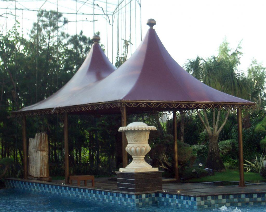Mái Che Bạt Căng Chòi Nghỉ Hồ Bơi 2 Flexiiform