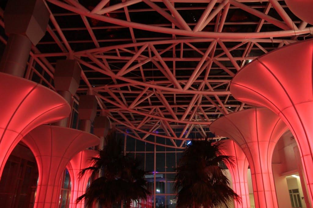 Bạt căng nội thất trung tâm thương mại Flexiiform có thể kết hợp hiệu ứng ánh sáng hoàn hảo 2 Flexiiform
