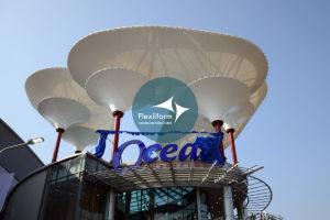 Ocean Center Monywa_Mái che độc đáo shopping malls 2