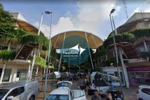 UD Town_Mái che kiến trúc trung tâm thương mại 5