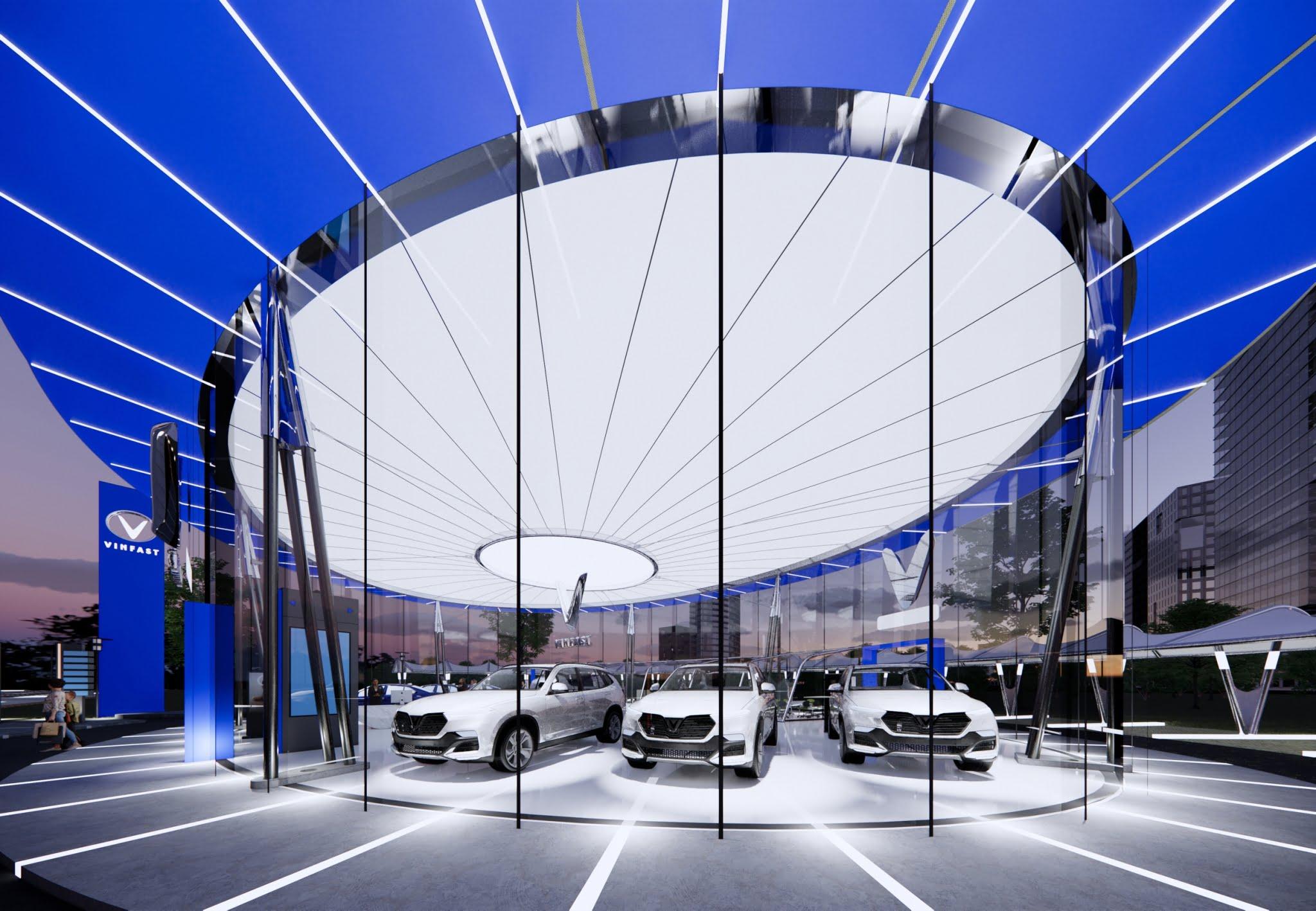 VinFast Global Showroom Design Competition 2021 - Flexiiform 5