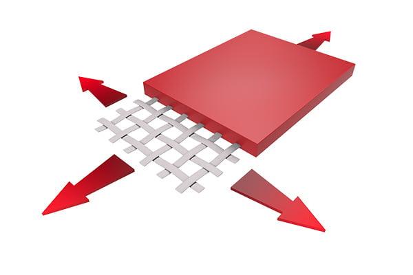 Flexiiform cung cấp bạt PVC/PES (PVDF), PTFE, ETFE film 1 Flexiiform