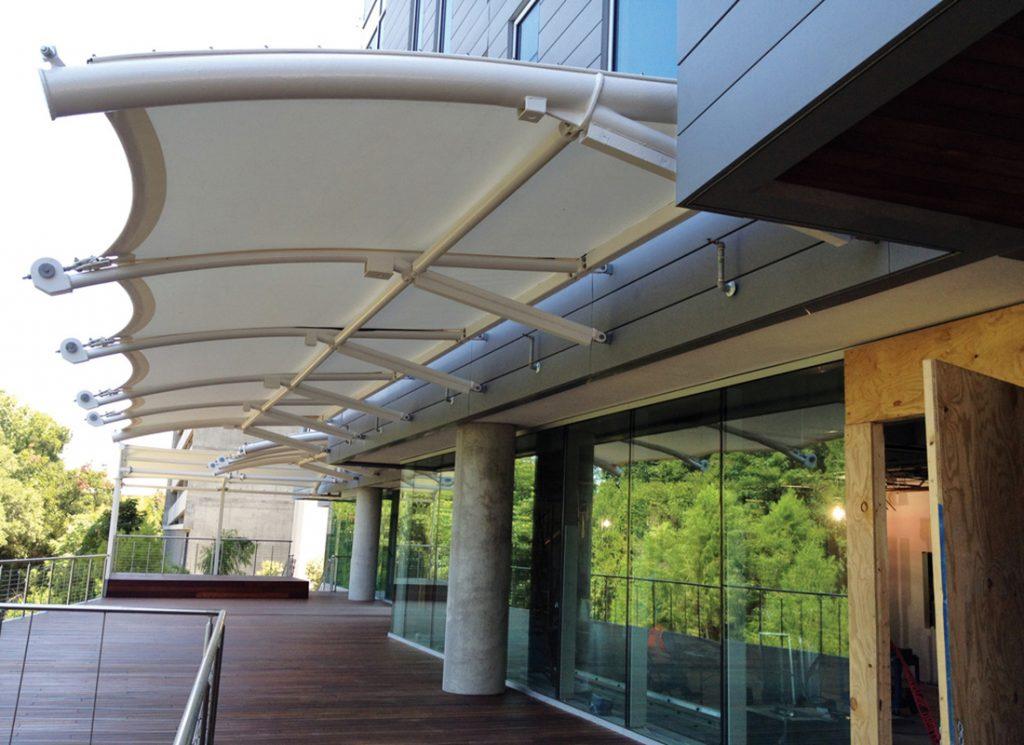 Mái che bạt căng canopy 4 Flexiiform