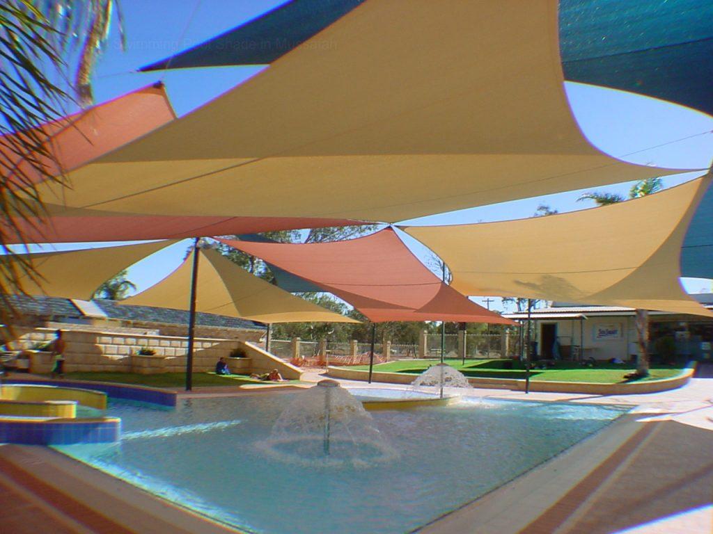 Mái che bạt căng hồ bơi 1 Flexiiform