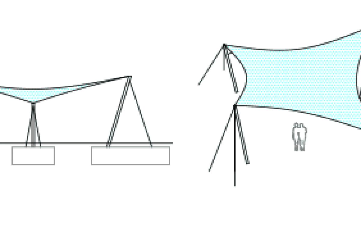 Kết cấu thiết kế bạt cánh buồm